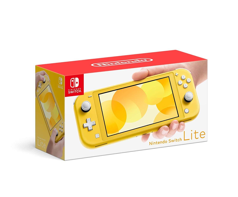 Портативная консоль Nintendo Switch Lite - Yellow (желтая)