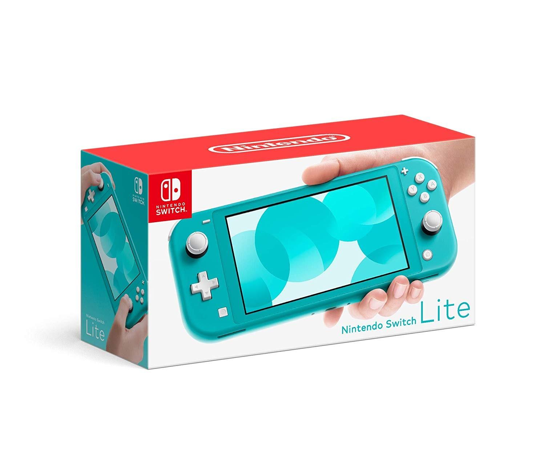 Портативная консоль Nintendo Switch Lite - Turquoise (бирюзовая)