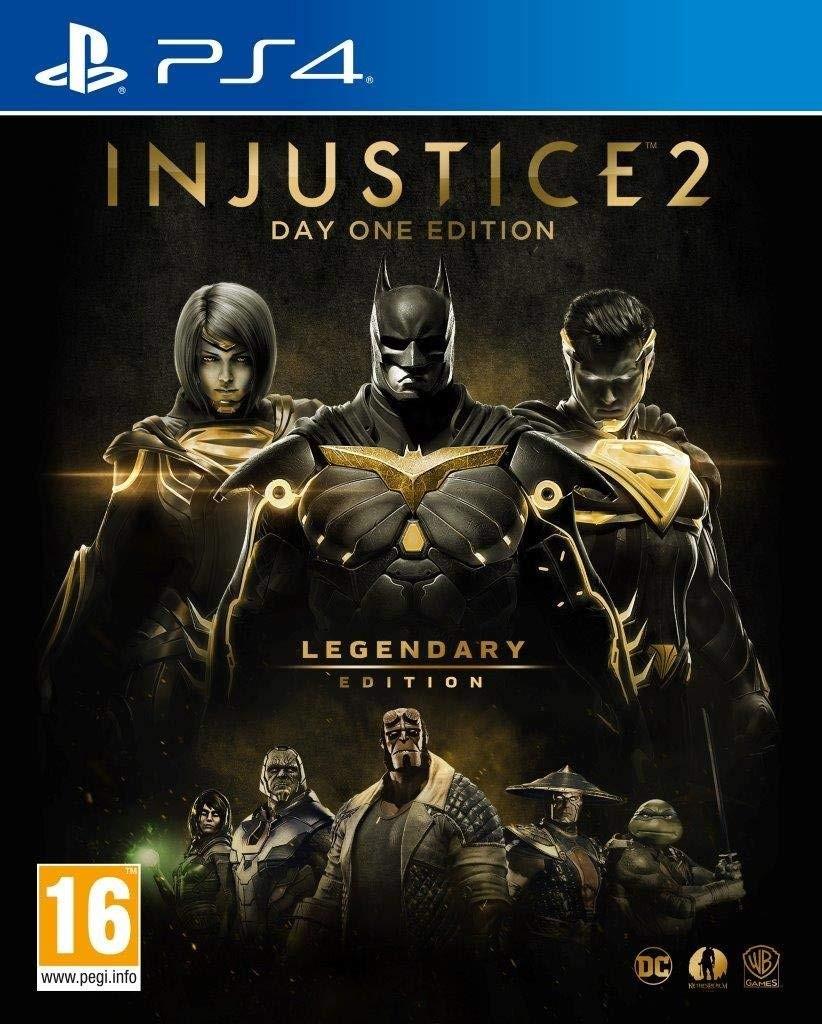 Injustice 2. Legendary Steelbook Edition PS4