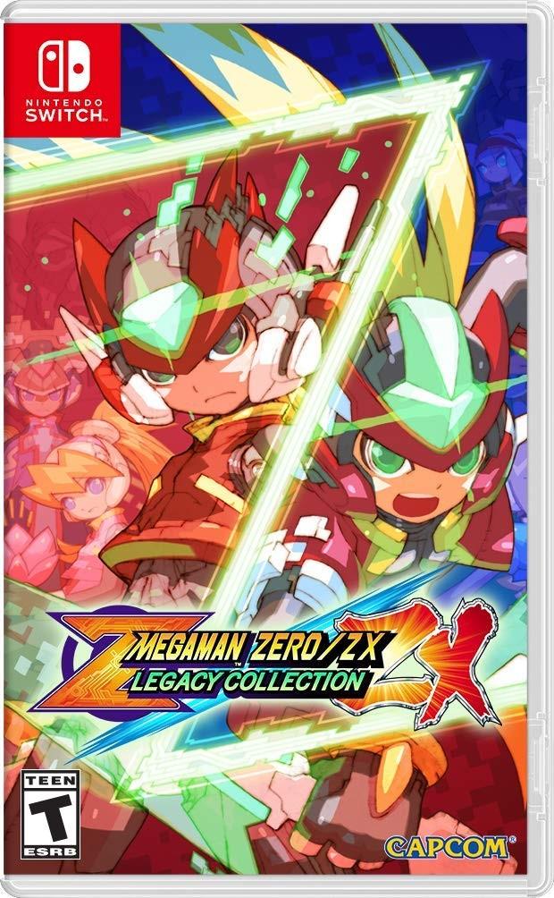 Mega Man Zero/ZX Legacy Collection SWITCH