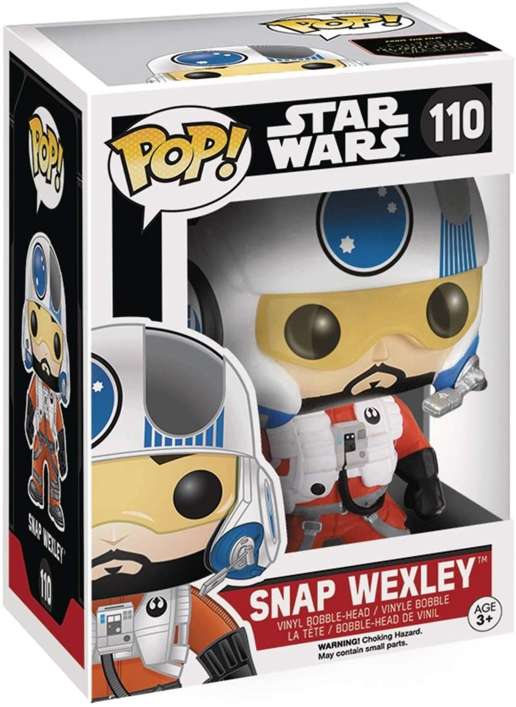 Star Wars: The Force Awakens - Snap Wexley X-Wing Pilot Vinyl Figure | Фігурка Funko POP!