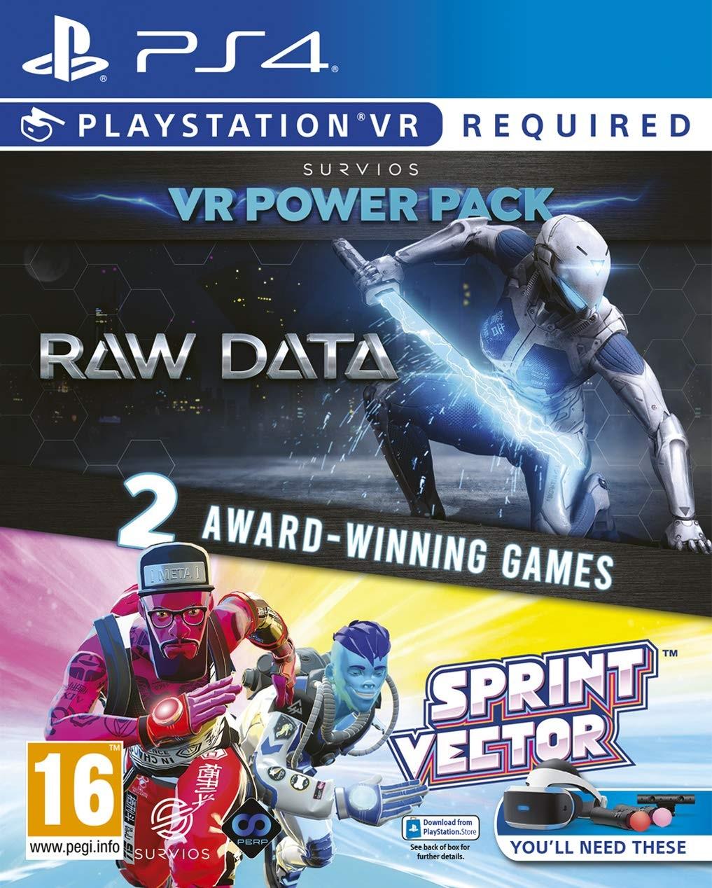 The Survios VR Power Pack: Raw Data + Sprint Vector PSVR