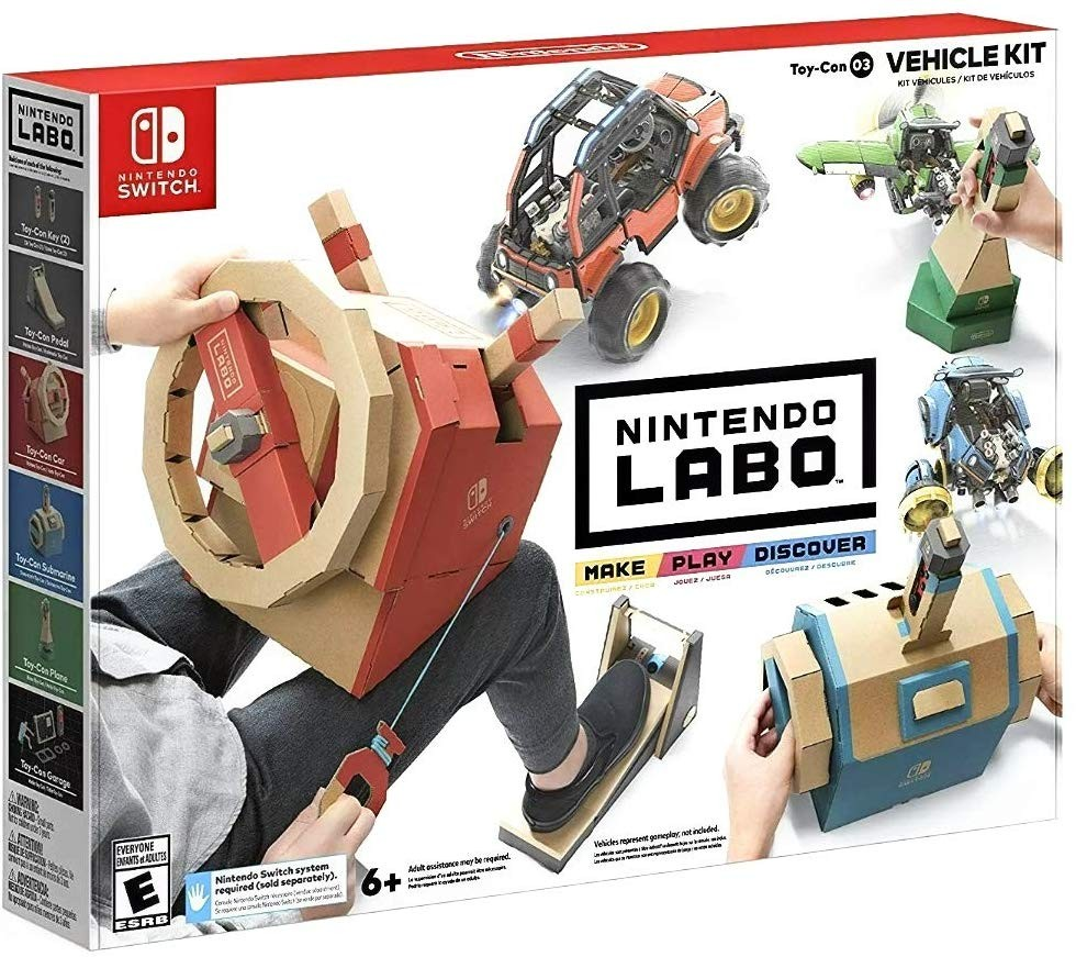 Nintendo Labo Toy-Con 03: Vehicle Kit (Набор Транспорт) SWITCH
