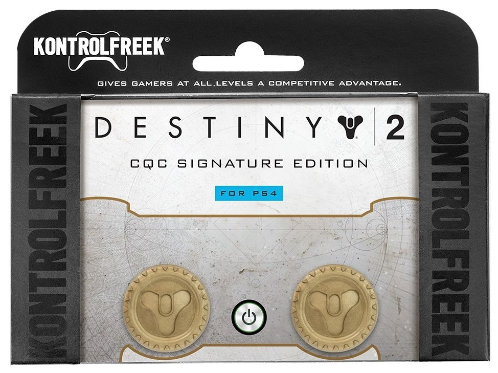 Destiny 2 CQC Signature Edition KontrolFreek | FPS Freek | Накладки на стики PS4/PS5
