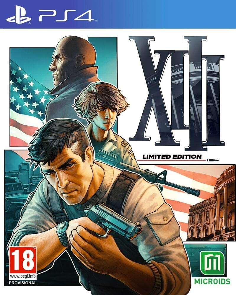 XIII Limited Edition | Steelbook | Стилбук PS4