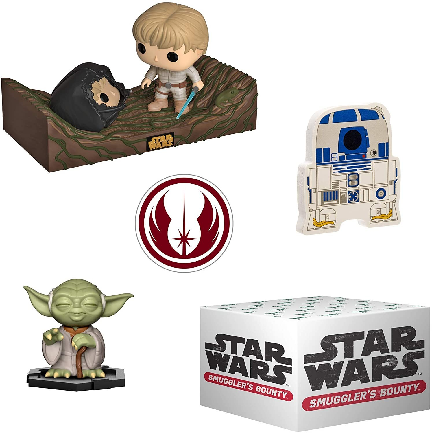 Funko Star Wars Smuggler's Bounty Box, Dagobah Theme | Набор Funko POP!
