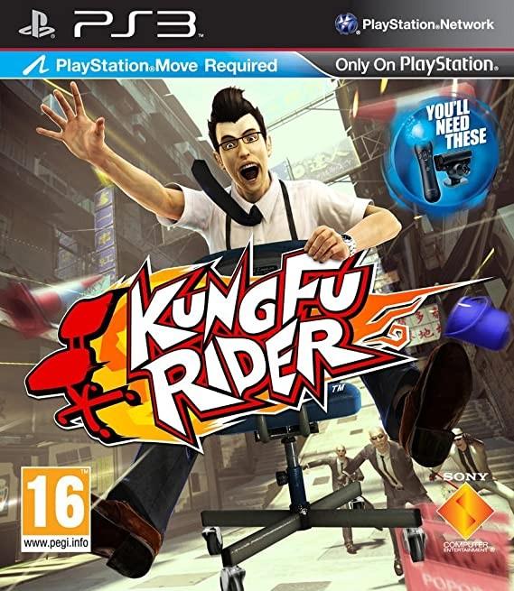 Kung Fu Rider б/в PS3
