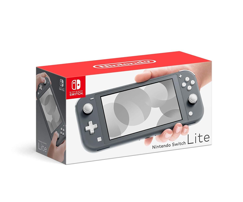 Портативная консоль Nintendo Switch Lite - Gray (серая)