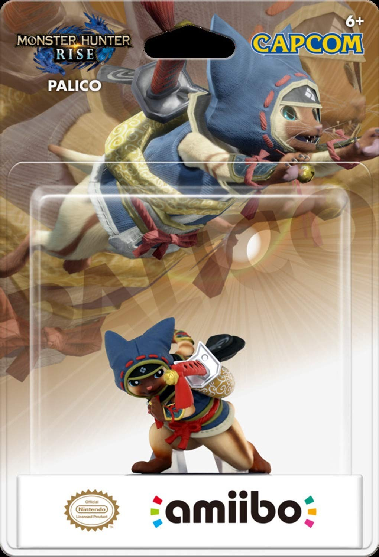 Monster Hunter Rise: Интерактивная фигурка amiibo – Palico