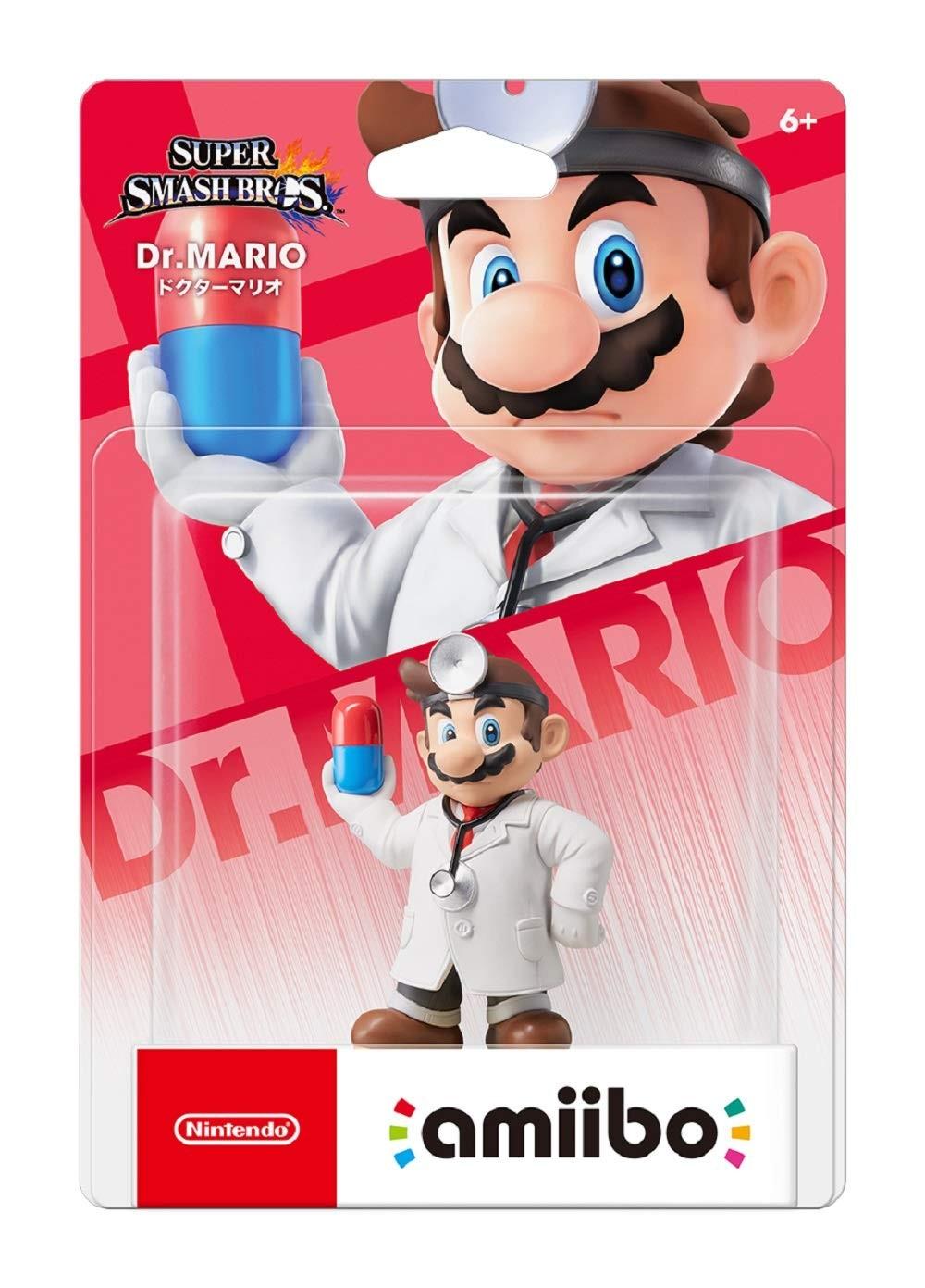 Super Smash Bros.: Интерактивная фигурка amiibo - Dr. Mario