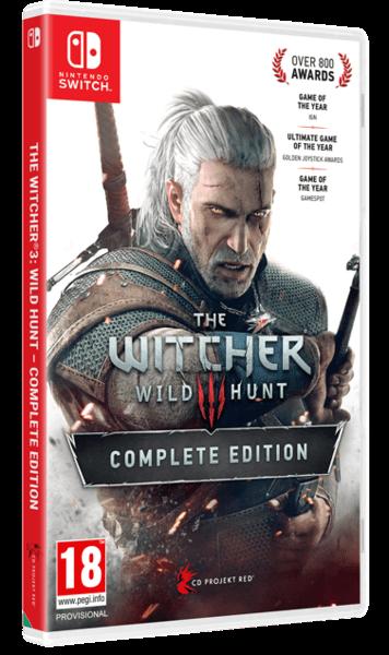 The Witcher 3 Wild Hunt GOTY | Відьмак 3 Дике Полювання Повне Видання б/в SWITCH