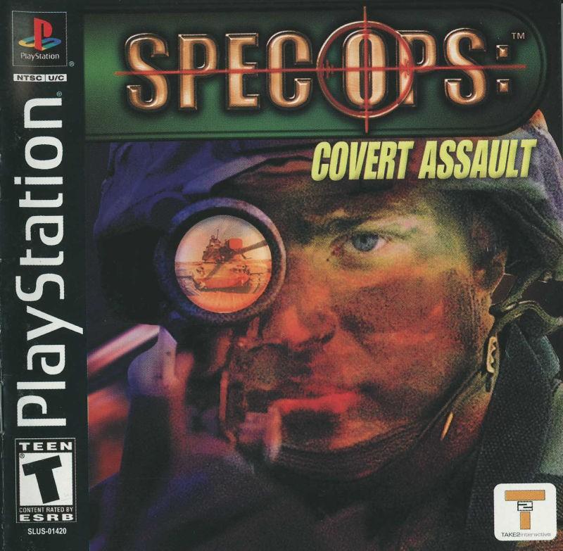 Spec Ops: Covert Assault б/у PS1