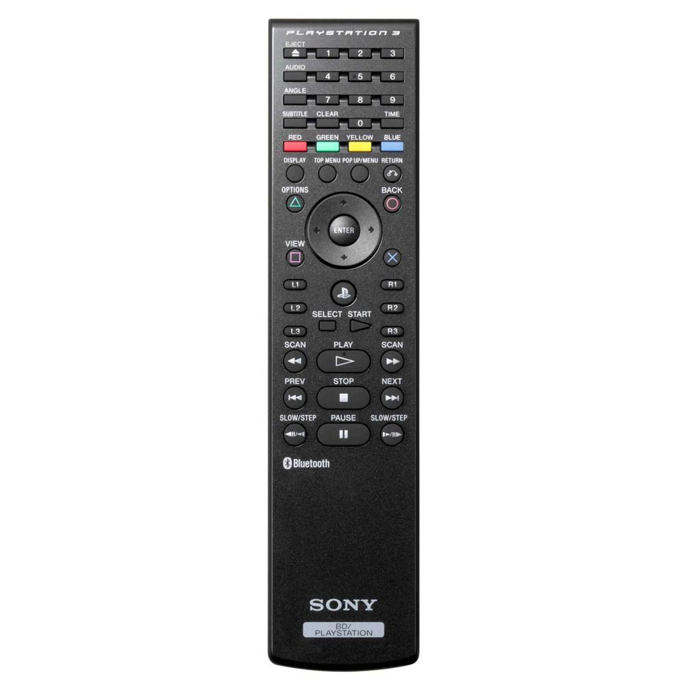 Sony PS3 Blu-Ray Remote Control Black