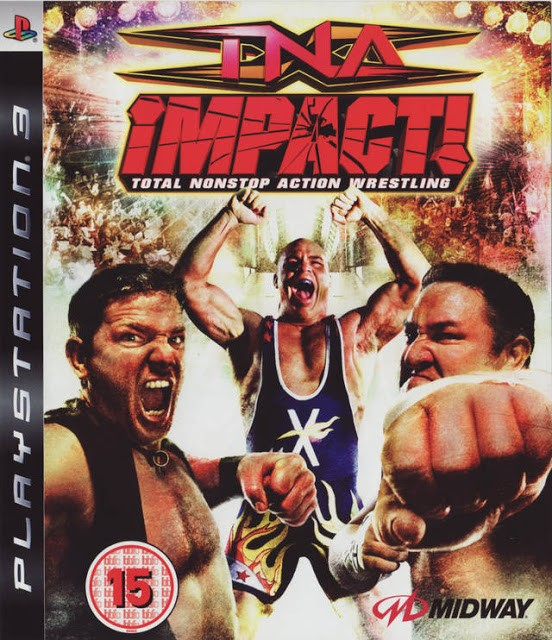 TNA Impact! Total Nonstop Action Wrestling б/у PS3