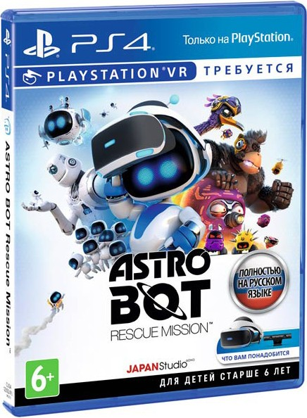 Astro Bot Rescue Mission VR (потрібен) PS4