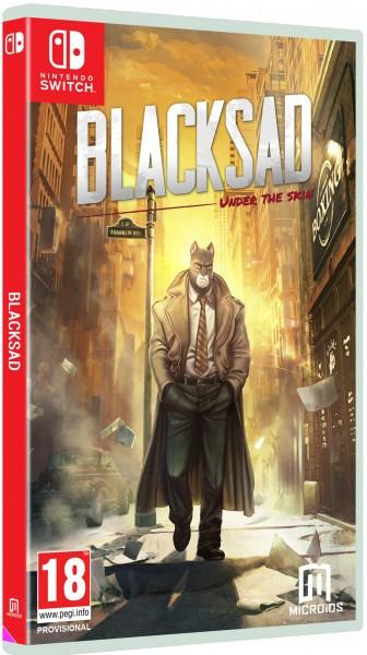 Blacksad: Under The Skin. Колекційне видання SWITCH
