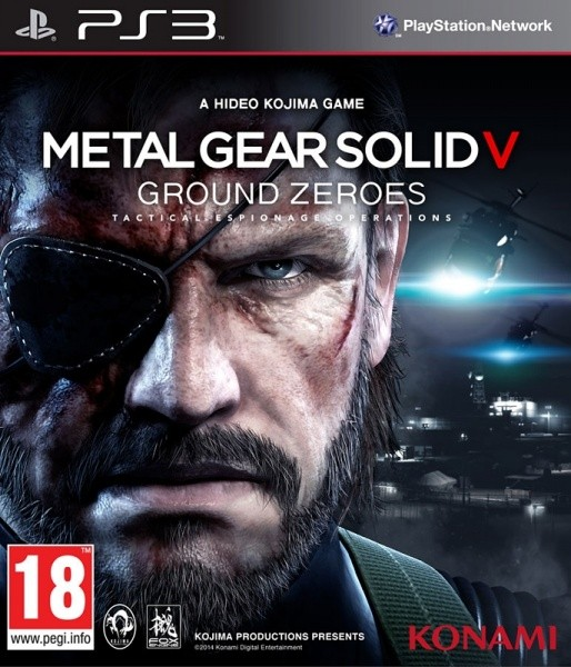 Metal Gear Solid V Ground Zeroes | MGS 5 Ground Zeroes б/у PS3