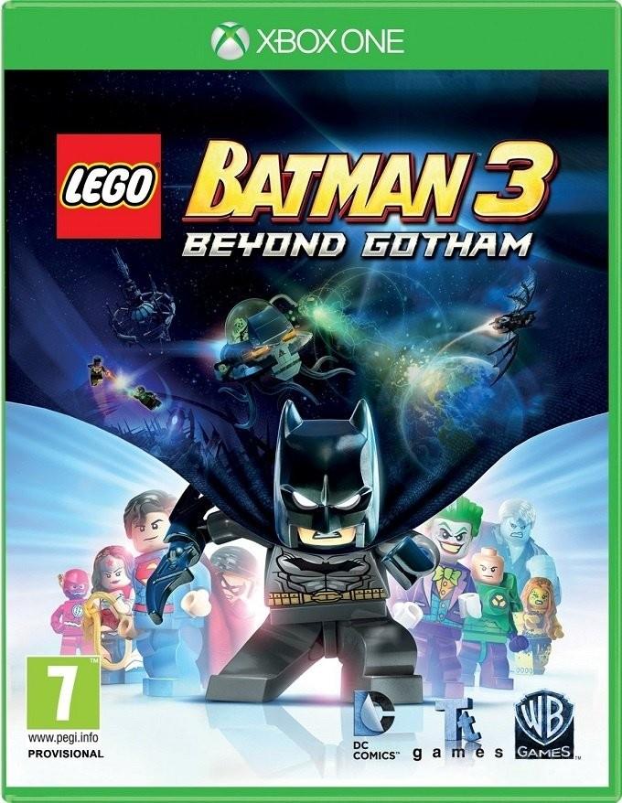 LEGO Batman 3 Покидая Готэм | LEGO Бэтмен 3 XONE