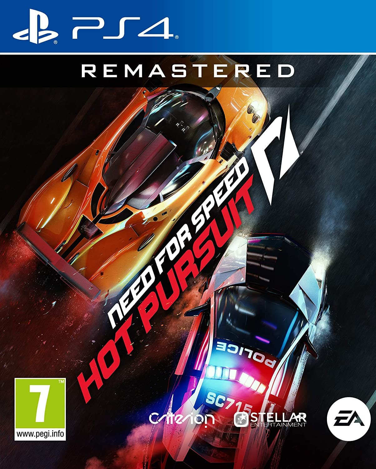Need For Speed: Hot Pursuit Remastered | NFS Hot Pursuit Remastered PS4