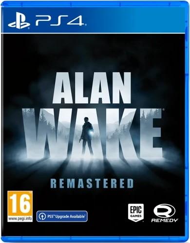 Alan Wake Remastered PS4