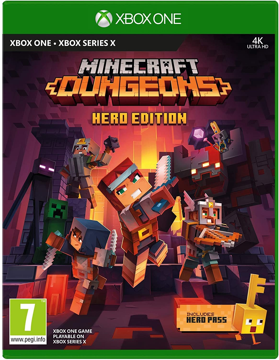 Minecraft Dungeons Hero Edition XONE/XSX