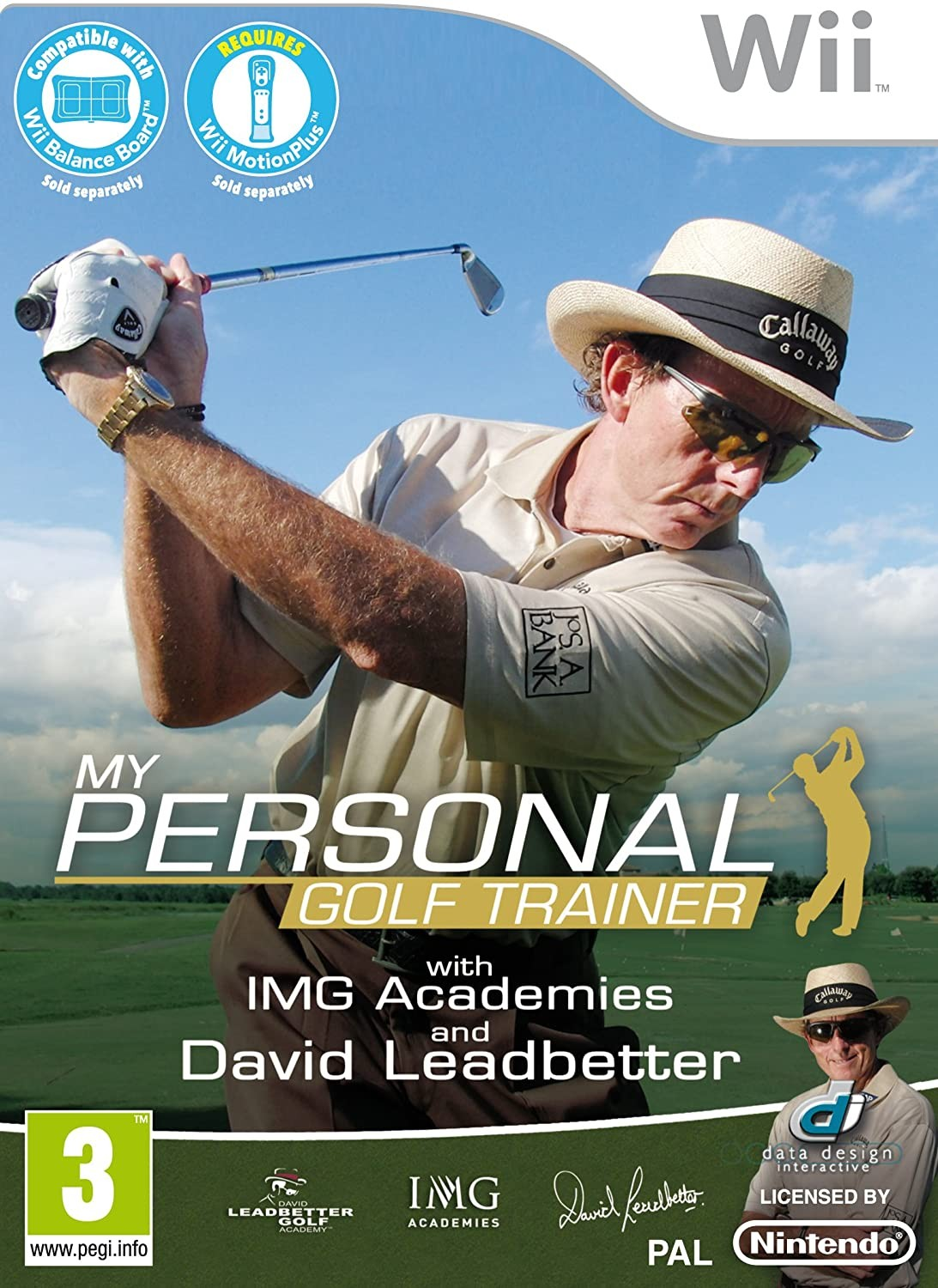 My Personal Golf Trainer with IMG Academies and David Leadbetter Wii
