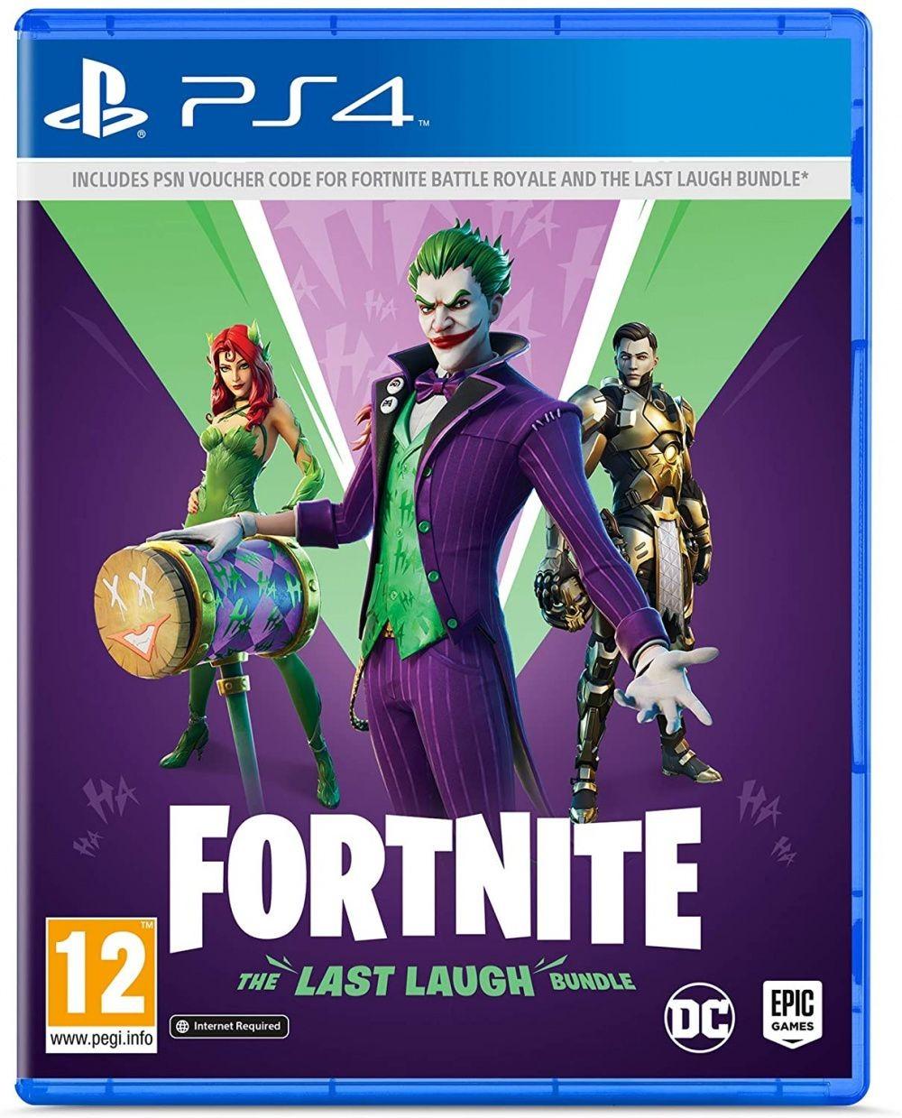 Fortnite. The Last Laugh Bundle | «Кто смеётся последним» PS4