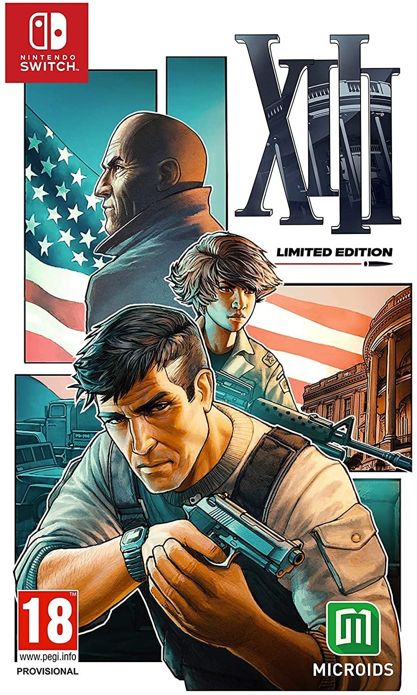 XIII Limited Edition | Steelbook | Стилбук SWITCH