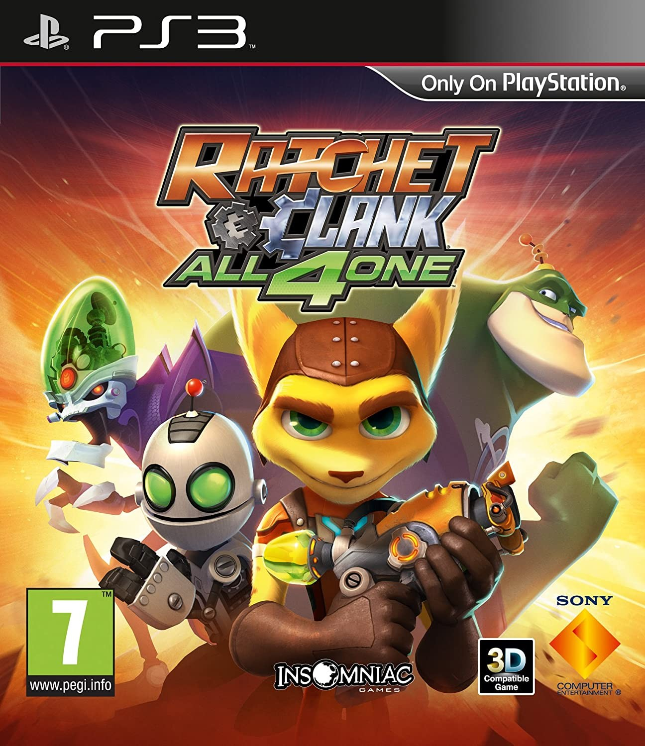 Ratchet & Clank All 4 One б/у PS3
