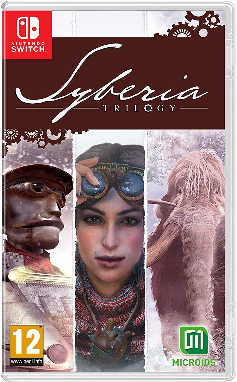 Сибирь Трилогия | Syberia Trilogy SWITCH