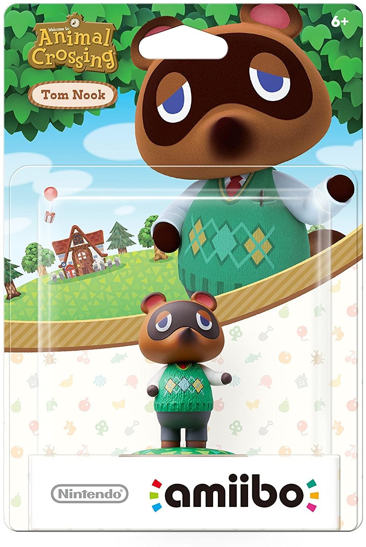 Animal Crossing Series Tom Nook amiibo. Интерактивная фигурка amiibo