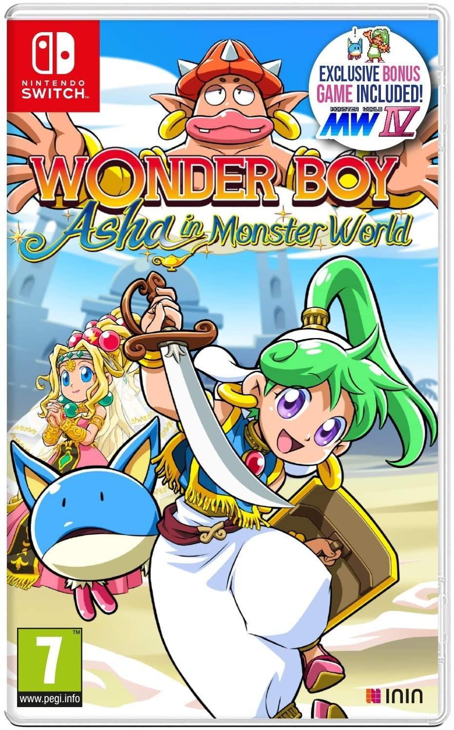 Wonder Boy Asha in Monster SWITCH