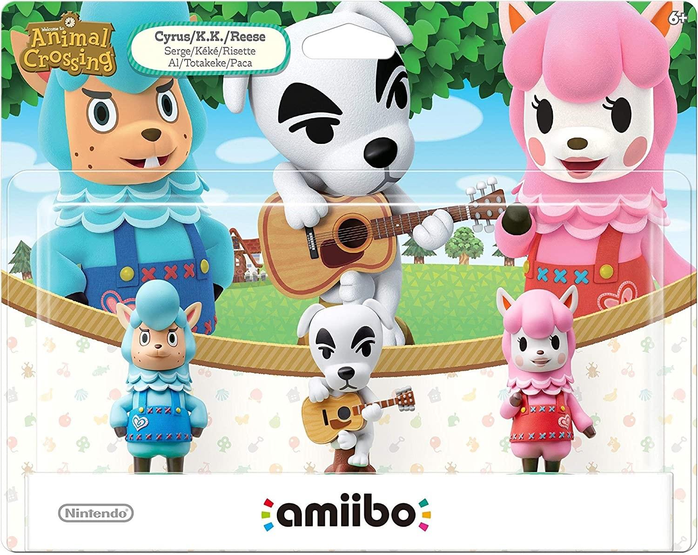 Animal Crossing Series 3-Pack amiibo. Інтерактивні фігурки amiibo (комплект)