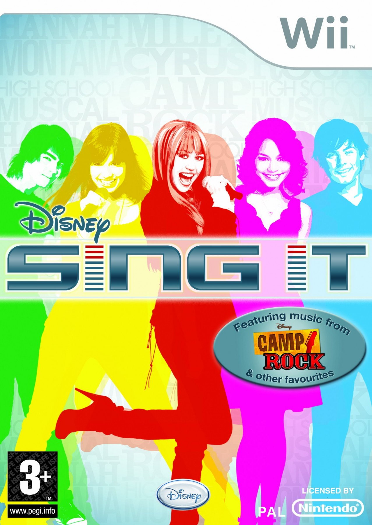 Disney Sing It б/в Wii