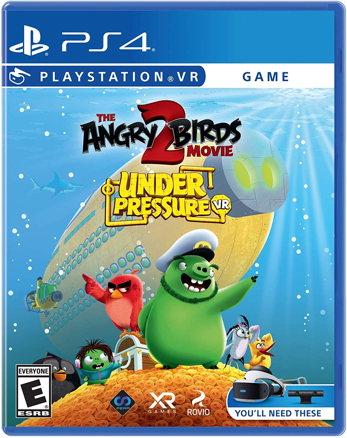 The Angry Birds Movie 2 VR: Under Pressure VR PS4