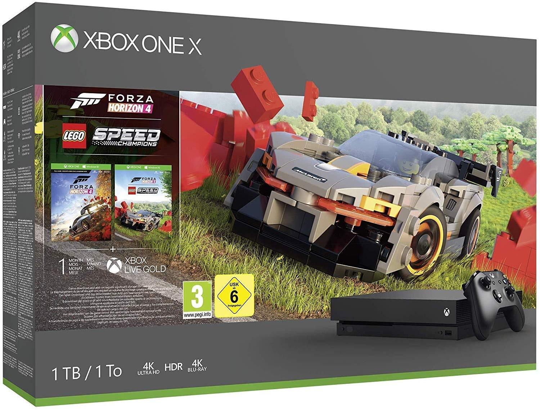 Microsoft Xbox One X 1TB + Forza Horizon 4 LEGO Speed Champions (Код)