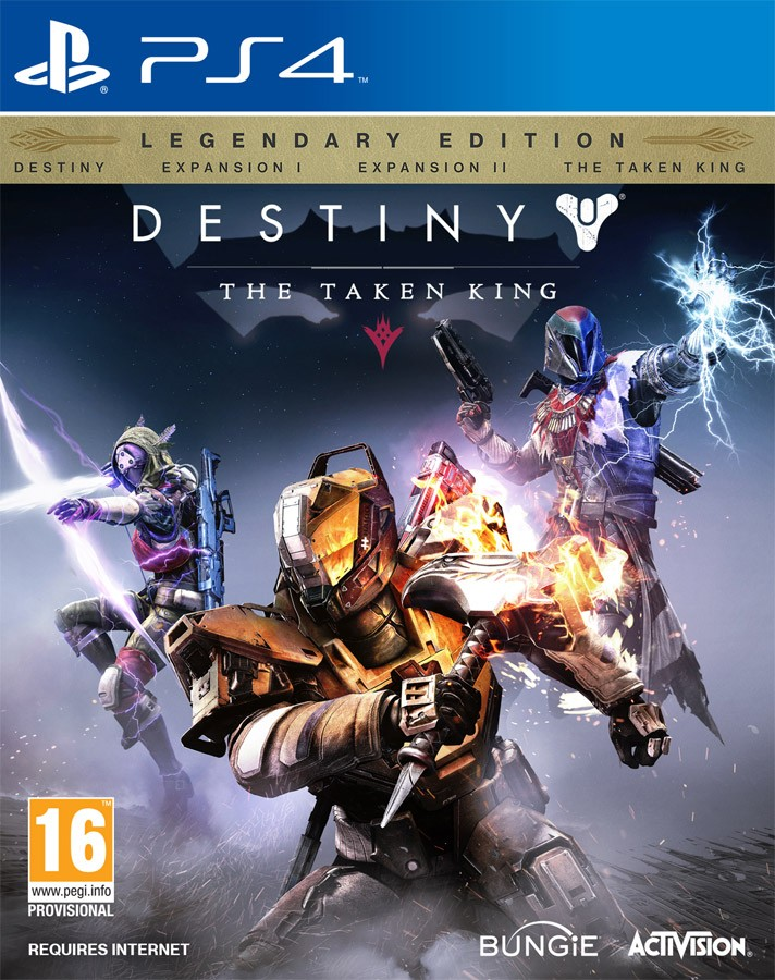 Destiny: The Taken King. Legendary Edition PS4
