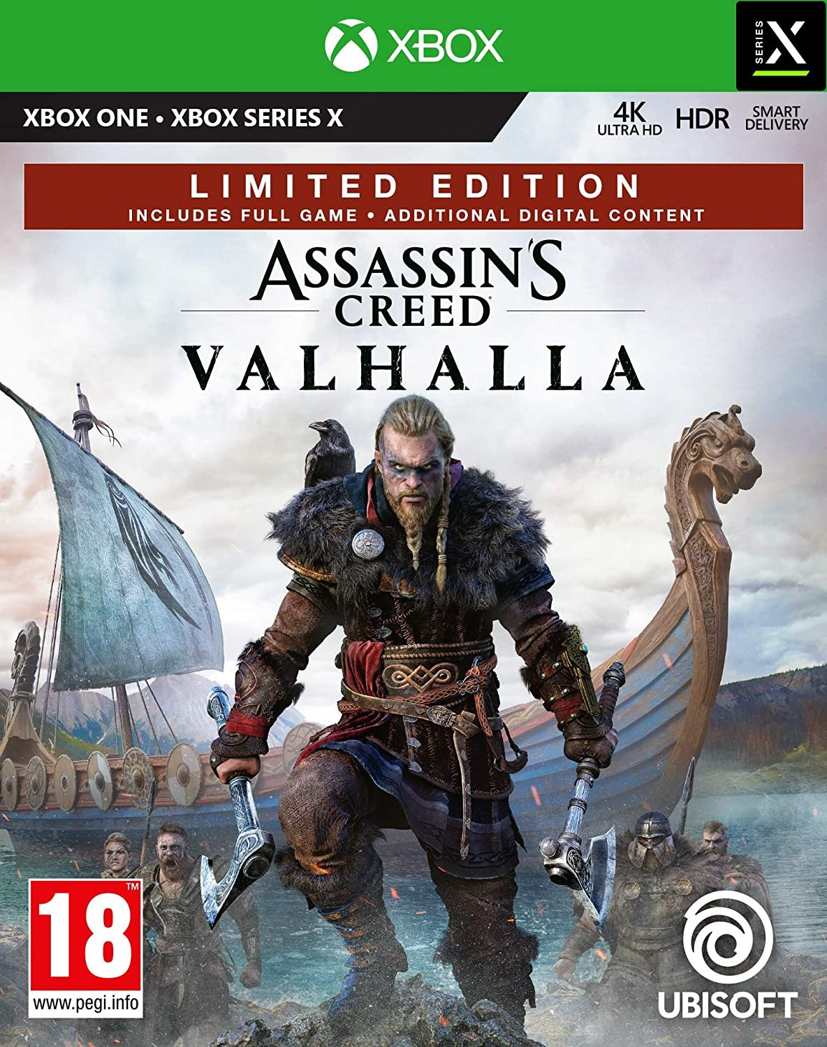Assassin's Creed Valhalla Limited Edition | Assassin's Creed Вальгалла Лімітоване Видання XONE/XSX