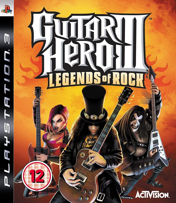 Guitar Hero III Legends of Rock | Guitar Hero 3 б/у PS3