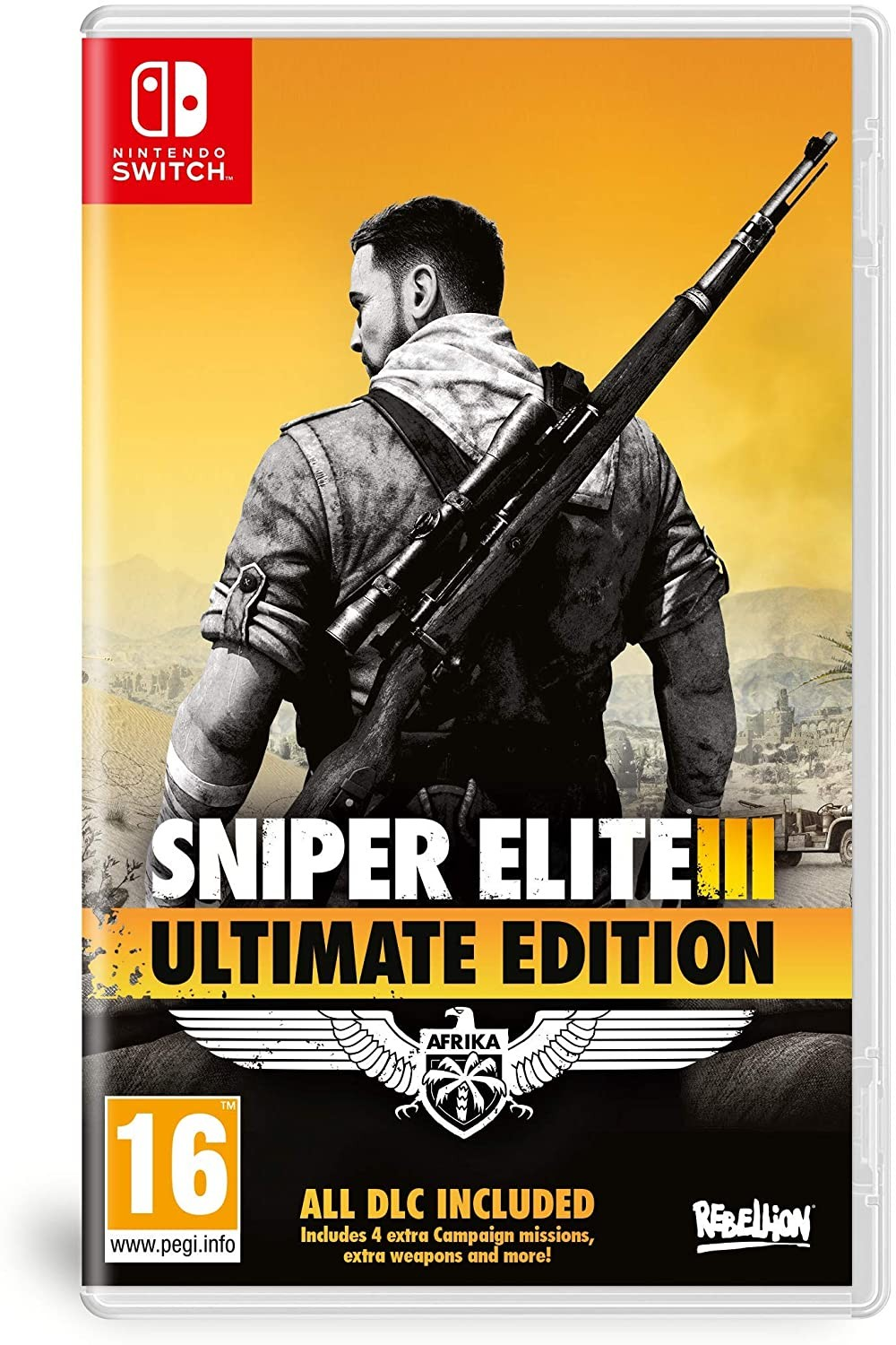 The Sniper Elite 3 Ultimate Edition SWITCH
