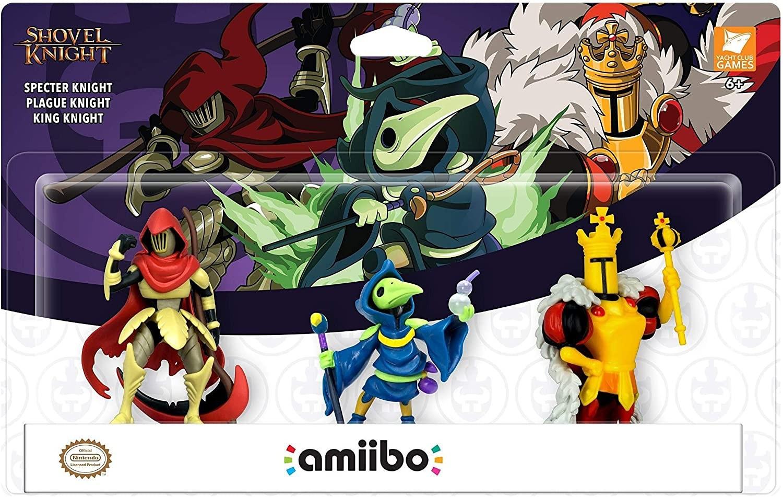 Shovel Knight: Комплект інтерактивних фігурок amiibo - Shovel Knight Treasure Trove