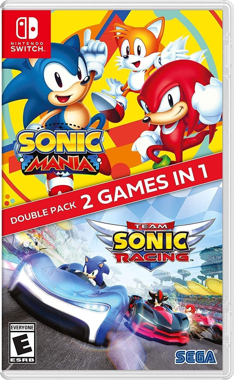 Sonic Mania + Team Sonic Racing Double Pack | Комплект SWITCH