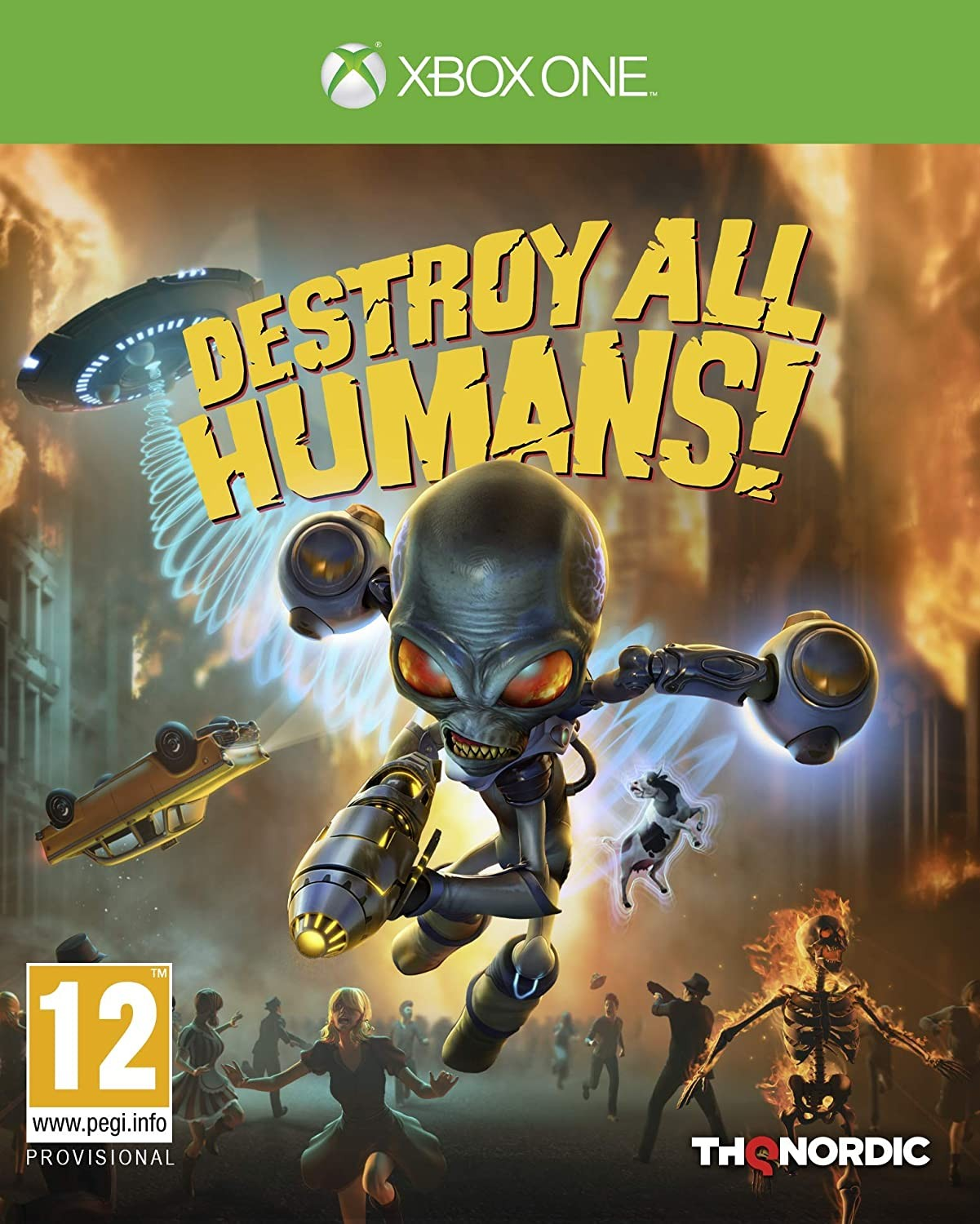 Destroy All Humans! 2020 XONE