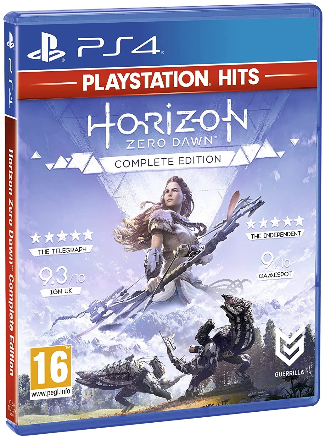 Horizon Zero Dawn Complete Edition б/у PS4