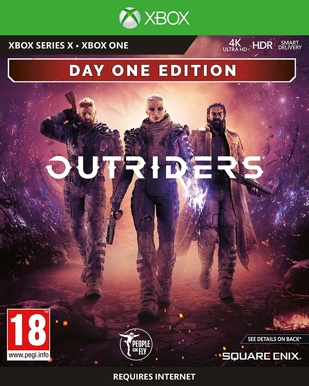 Outriders Day One Edition XONE/XSX