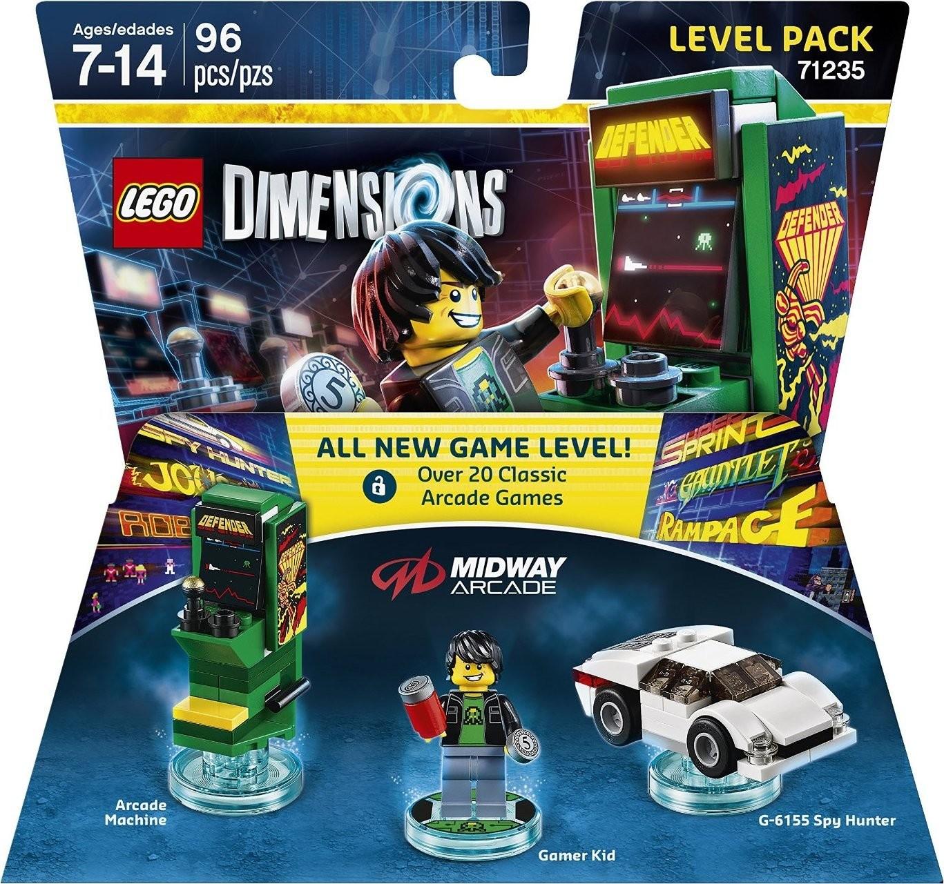 LEGO Dimensions Level Pack - Midway Retro Gamer LEGO Виміри