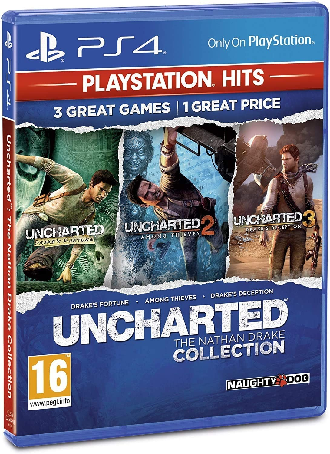 Uncharted Натан Дрейк Коллекция | Uncharted The Nathan Drake Collection PS4