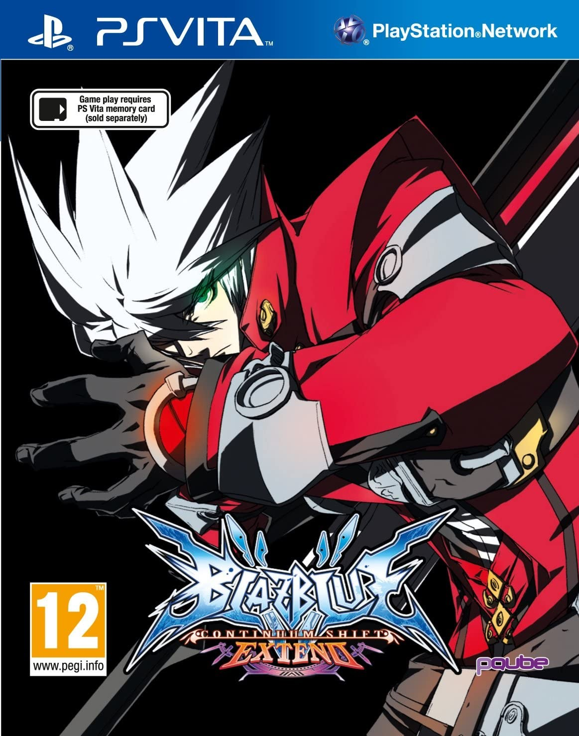 BlazBlue Continuum Shift Extend PSV