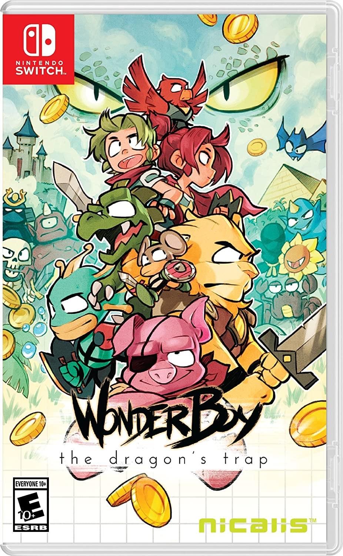 Wonder Boy The Dragon's Trap SWITCH