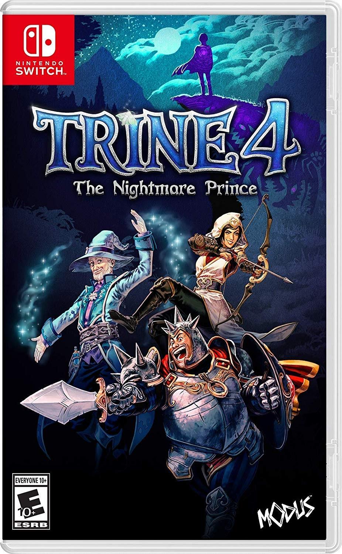 Trine 4 The Nightmare Prince SWITCH